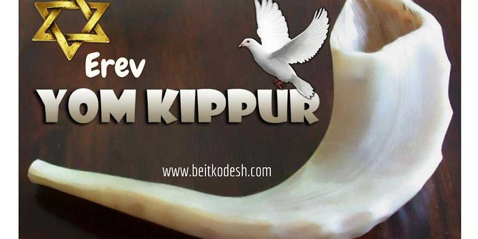 LIVE Erev Yom Kippur Service 5779 - 18th September 2018