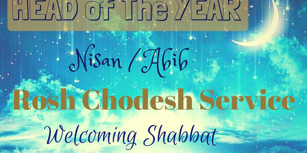 HEAD OF THE YEAR - Rosh Chodesh Nisan / Abib & Erev Shabbat @ Yiskah Bat Yerushalayim's YouTube Channel