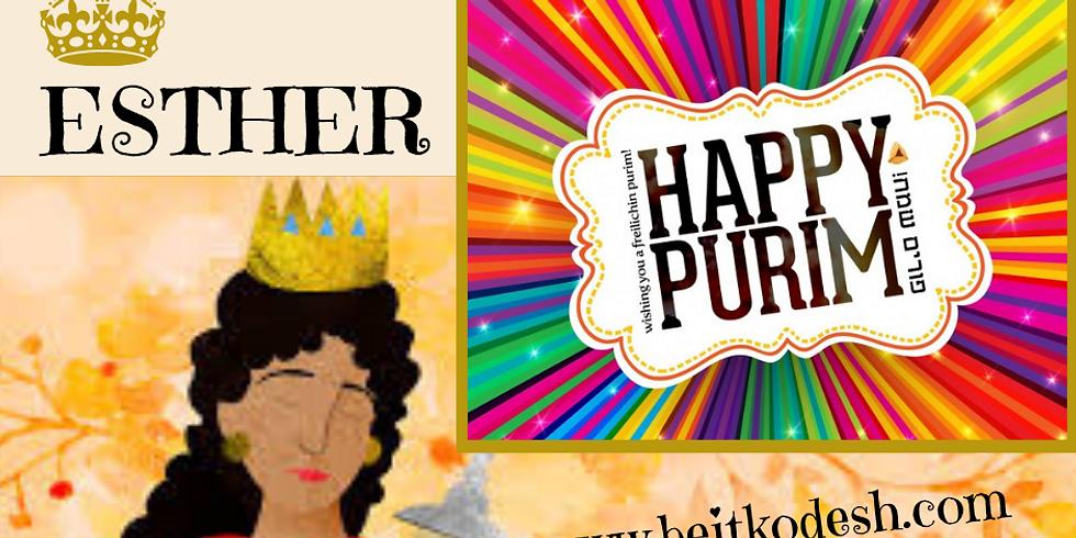 PURIM Celebration 2019 @ Yiskah Bat Yerushalayim YouTube Channel