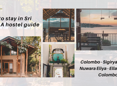 Where to stay in Sri Lanka - A hostel guide