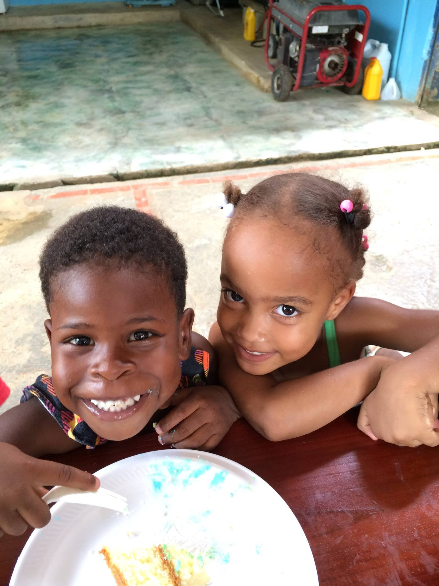 Miranda and Leah
