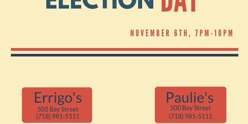 Viewing Party at Errigo's: Election Day