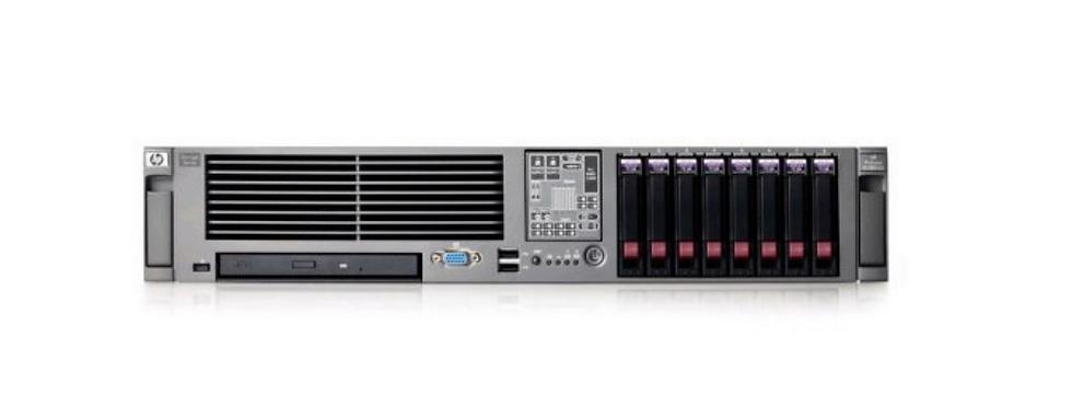 HP Prolient DI 380 G5 32 GB RAM DDR3 HDD-500x4 GB