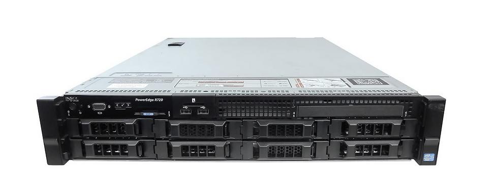 Dell Poweredge R720 64GB RAM 2TB HDD