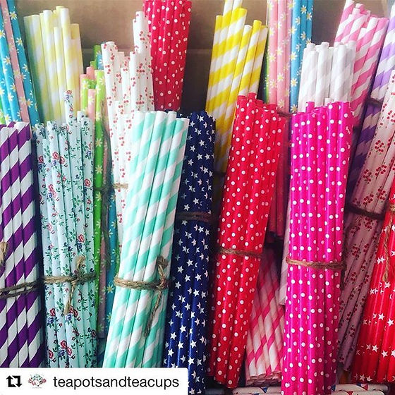 Love happy feedback _#Repost _teapotsandteacups with _get_repost_・・・_We ❤️ new straw day! No more pl
