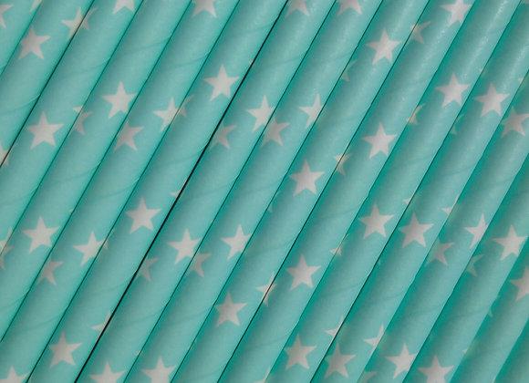 Pale blue star