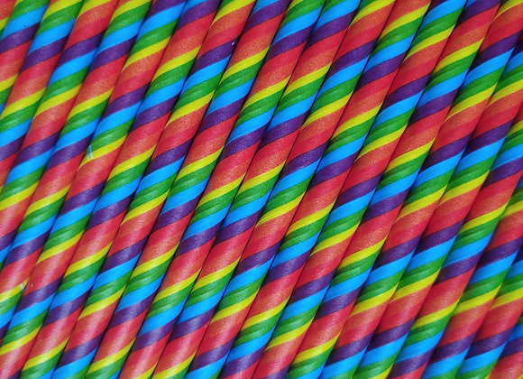Rainbow Sip Straw