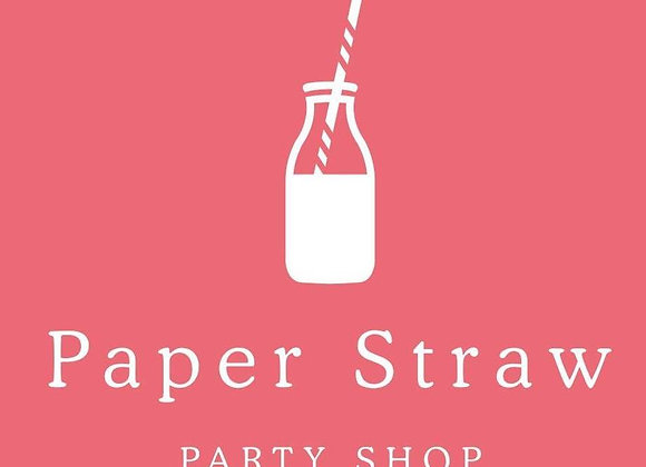 Paper Straw Party Shop Lucky Dip