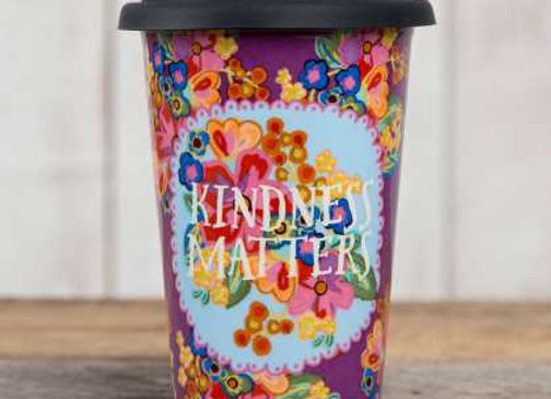 """Kindness Matters"" Thermal Mug"