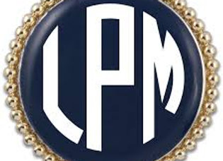 Monogram Sticker for LP Snaps
