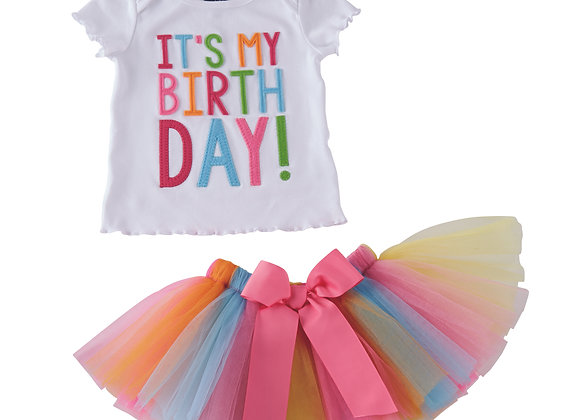 It's My Birthday! Tutu Set