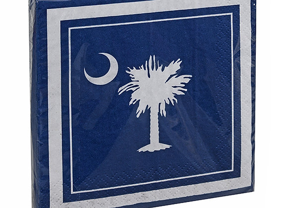 Beverage Napkins- Palmetto Moon