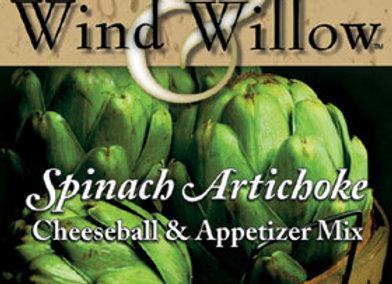 Spinach Artichoke Cheeseball & Appetizer Mix
