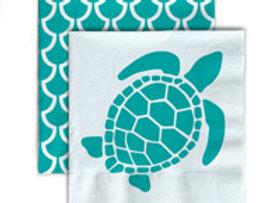 Beverage Napkins- Sea Turtle