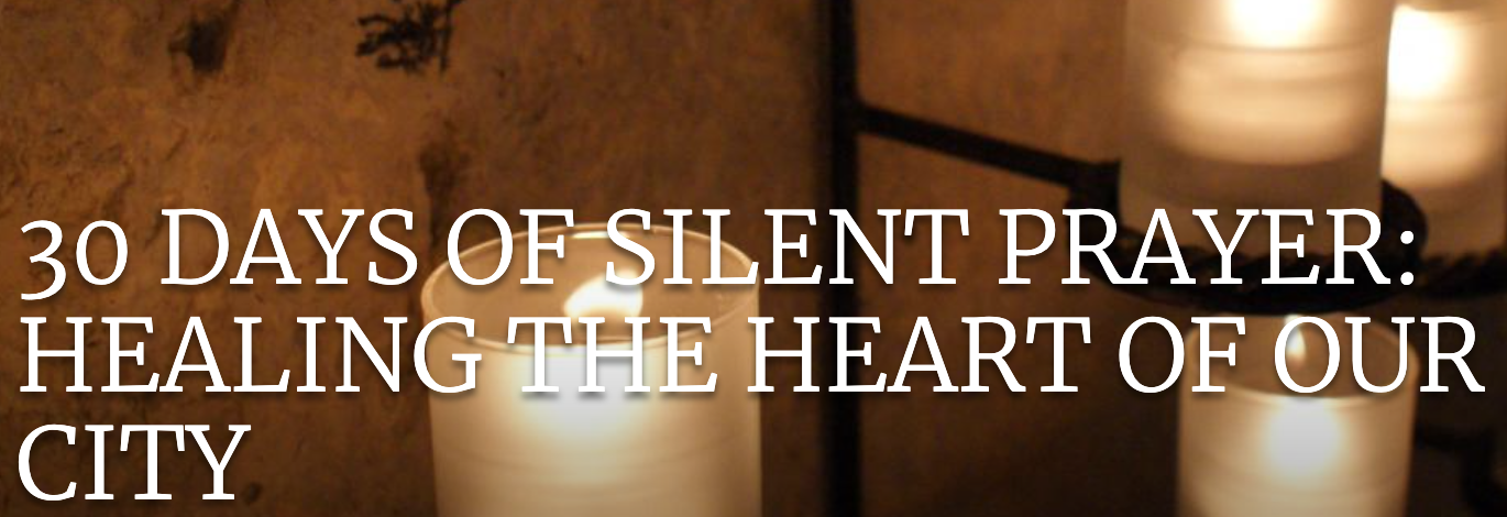 Basilica News: 30 Days of Silent Prayer