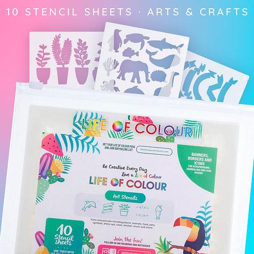 Stencil Pack