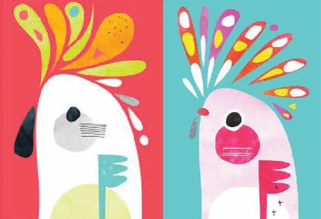 Pete Cromer inspired birds