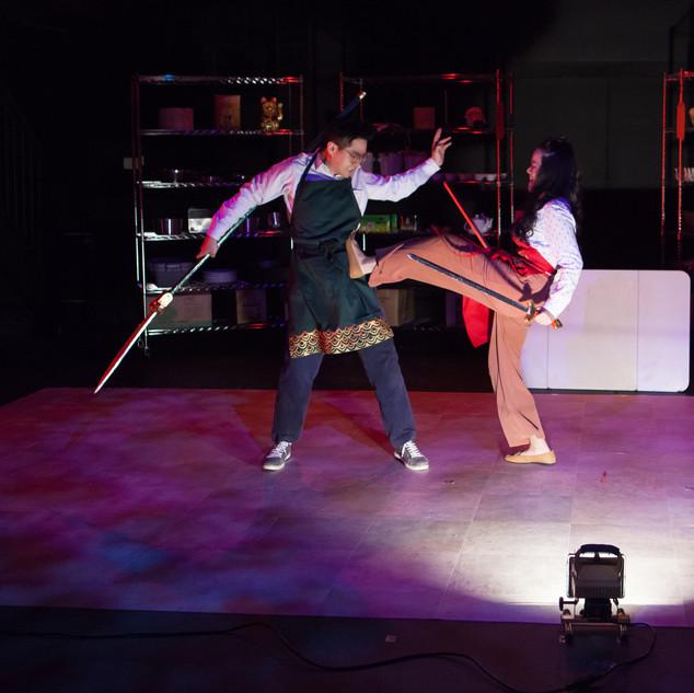 Sami as Grace in F.O.B.