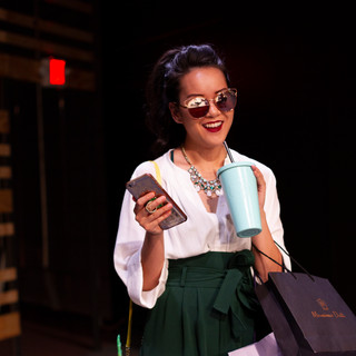 Sami as Kendra in Gloria at Hatch Arts Collective in Pittsburgh.