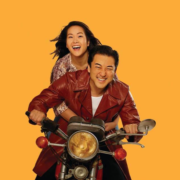 Sami Ma & Jeffrey Kim as Tong & Quang in Vietgone at American Stage Company. Photo by: Joey Clay