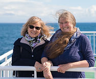 two sisters on ferry.jpg