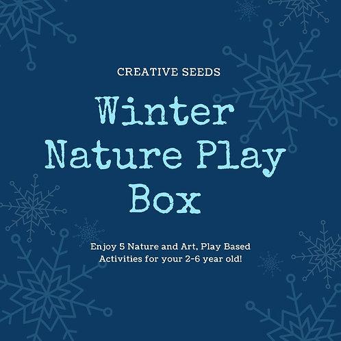Winter Nature Play Box