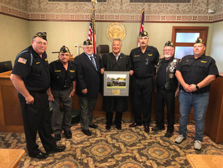 JUDGE FREDERICKA HONORED BY DISABLED VETERANS