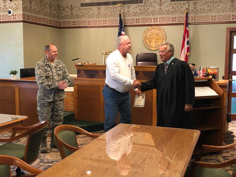 JUDGE FREDERICKA ACKNOWLEDGES THE DETERMINATION OF VETERANS' ASSISTANCE PROGRAM GRADUATES