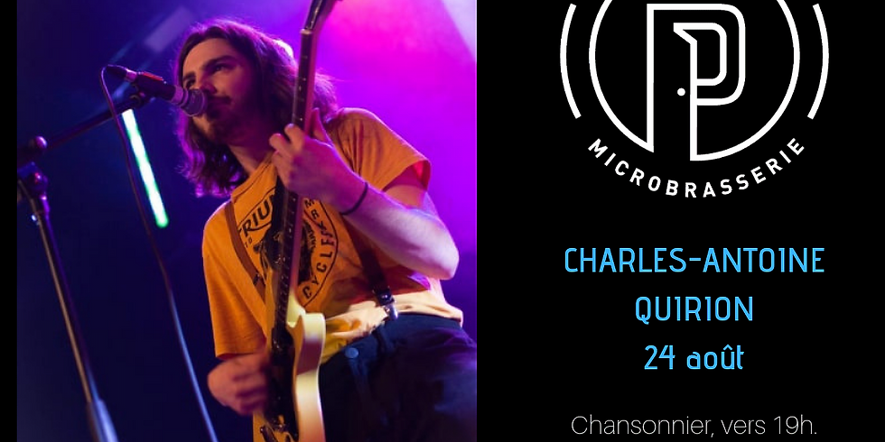 Charles-Antoine Quirion, chansonnier !