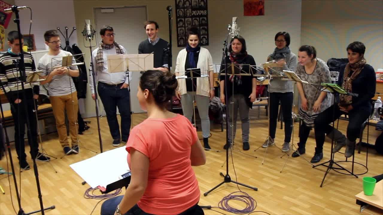 Un beau tambour, Les Doudous Lyriques, chœur43
