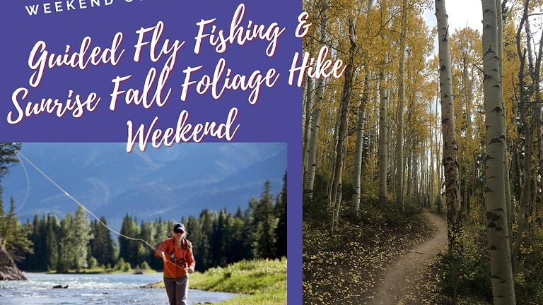 Fly Fishing & Fall Foliage Hike Combo