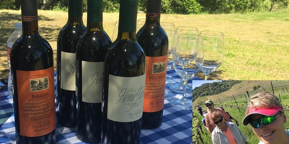Our Next Creative Adventure - a Vineyard Tour & Picnic!
