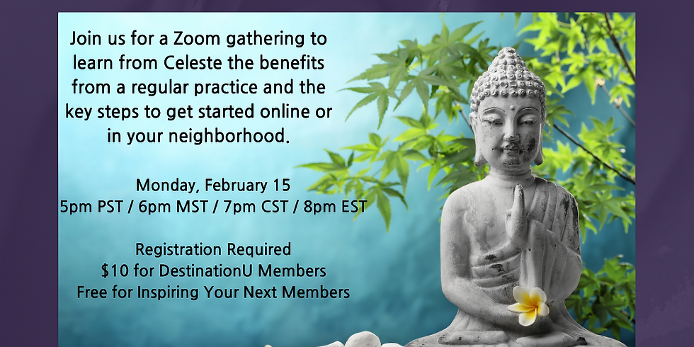 Intro to Meditation with Celeste