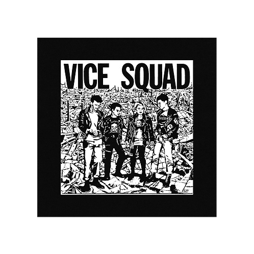 VICE SQUAD PATCH