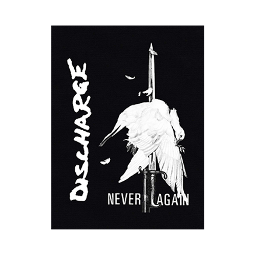 "DISCHARGE ""Never Again"" PATCH"