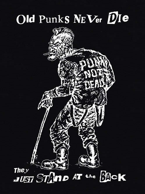 BackPatch OLD PUNKS NEVER DIE