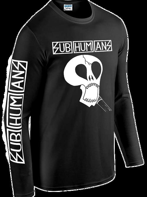 SUBHUMANS L/S T-Shirt 'Skull'