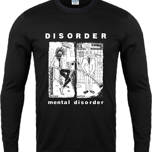 "L/S T-Shirt DISORDER ""Mental Disorder"""