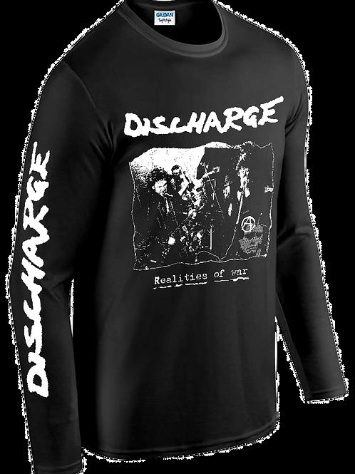 "T-Shirt L/S DISCHARGE ""Realities of War"""