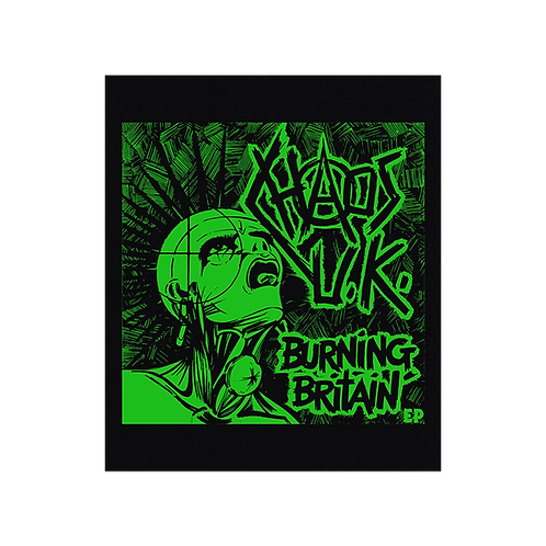 BackPatch CHAOS UK 'Burning Britain'