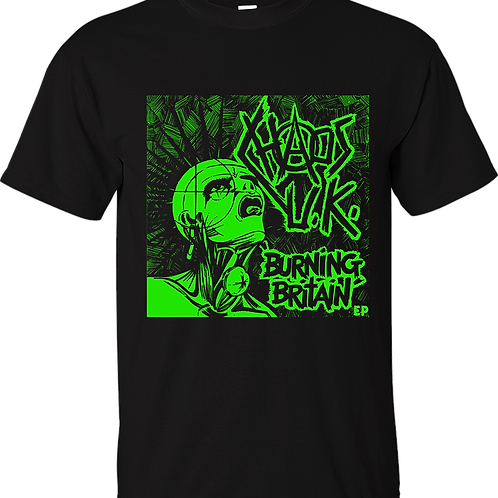"T-Shirt CHAOS UK ""Burning Britain"""