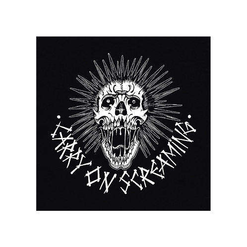 PATCH CARRY ON SCREAMING 'Skull'