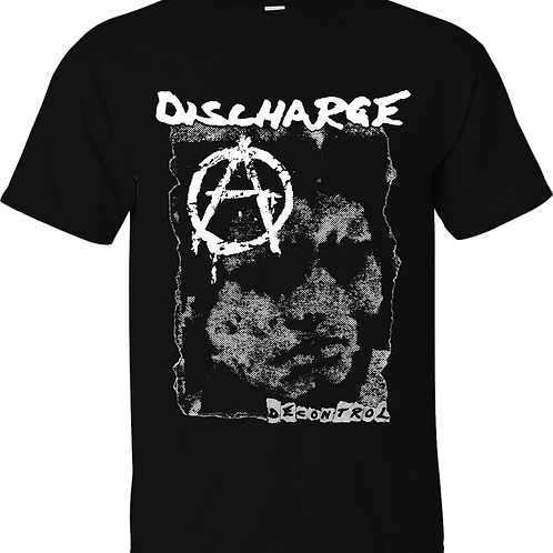 "NEW T-Shirt DISCHARGE ""Decontrol"""