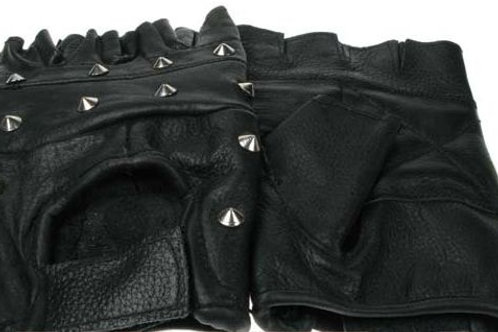 Gloves Leather & Studs
