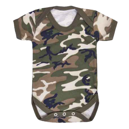 """Baby Grow """"Camouflage"""""""