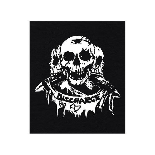 Faux Leather BackPatch DISCHARGE
