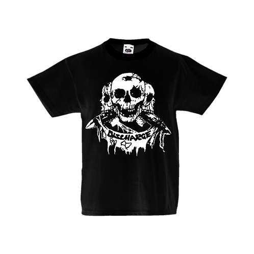 "Kids T-shirt Discharge ""Skulls"""