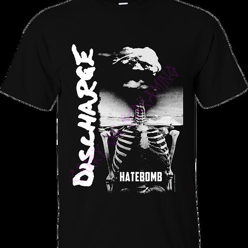 "T-Shirt DISCHARGE ""HATEBOMB"""