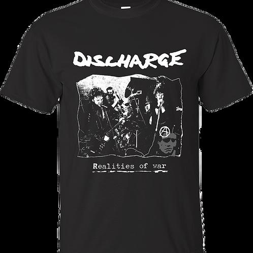 """T-Shirt DISCHARGE """"Realities of War"""""""
