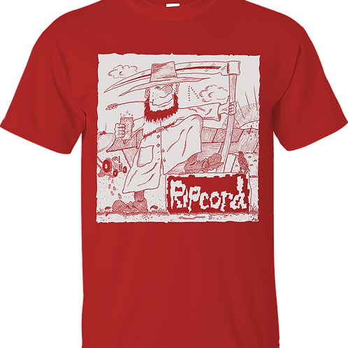 T-Shirt RIPCORD **Limited Edition in Red**